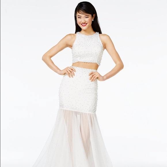 27% off Macy's Dresses & Skirts - Prom Dress 2-Pc ...