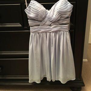 Hailey Logan Dresses & Skirts - Hailey Logan mesh inset chiffon skater dress