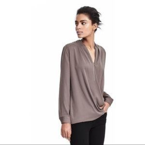 Banana Republic Wrap Blouse