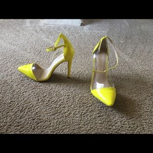 Shoes - Sexy neon heels