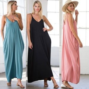 Leoninus Dresses & Skirts - ☀️NEW☀️Gauze Spaghetti Strap Maxi