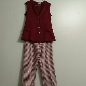 Sears  Pants - Vintage 60s Pantsuit