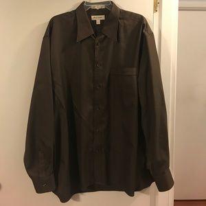 John W. Nordstrom Other - John W. Nordstrom chocolate brown men's shirt
