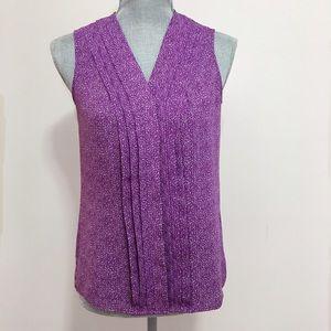 Banana Republic Tops - Banana Republic purple sleeveless blouse