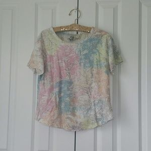 HOM Venice Multicolor Damage Style Shirt Top