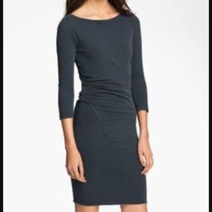 James Perse Dresses & Skirts - 🇺🇸 James Perse Asymmetrical Boat Neck Dress