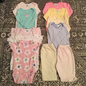 Gerber Other - Newborn Girl Onesies Bundle