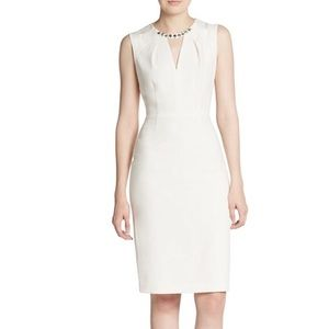 BCBGMaxAzria Dresses & Skirts - BCBGMaxAzria Samantha Dress in Light Stone