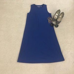 Susan Graver Dresses & Skirts - Lovely Basic Blue Dress