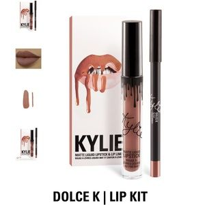 Kylie Cosmetics Other - Kylie Cosmetics Lip Kit in Dolce K Matte Lipstick
