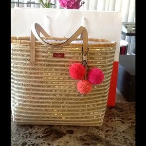 kate spade Straw Bag Collection❤️🌺🌸