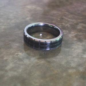 Tungsten Gray Ring