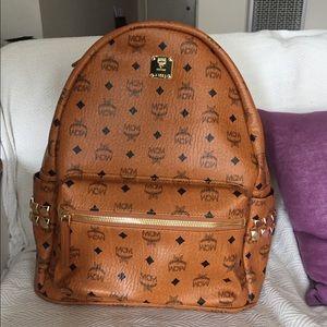 MCM Other - MCM backpack brown cognac Medium