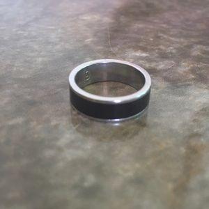 Tungsten Black Ring Band