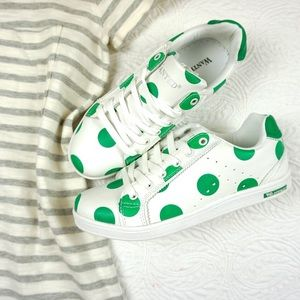 Wanted Shoes - NIB szs 7.5  and 8 avail. Polka Dot Sneakers