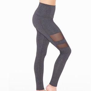 Beyond Yoga Pants - Beyond Yoga High Waisted Mesh Stripe Legging