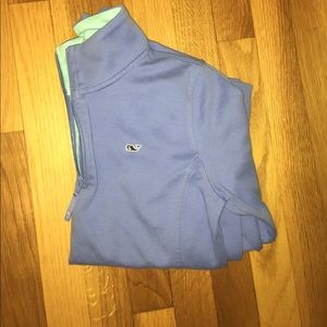Vineyard Vines Sweaters - Blue vineyard vines quarter zip