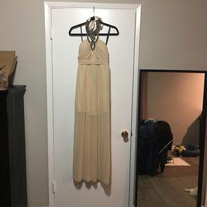 Little Mistress Dresses & Skirts - Brand new beaded halter dress -size 8