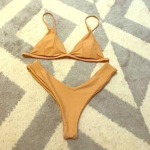 Stone Fox Swim Other - Nude thong bikini perfect fit!