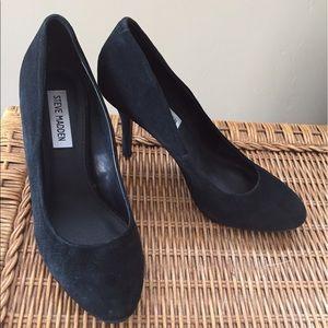"""Steve Madden Shoes - Steve Madden """"Wynston"""" Black Suede Pumps"""