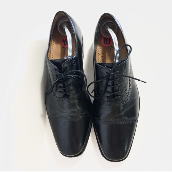 71% Off Cole Haan Other - Cole Haan Nike Air Brogue Oxford Black Dress Shoe From Reichenavenueu0026#39;s ...