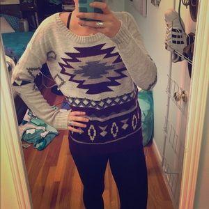 Tribal sweater, American Eagle