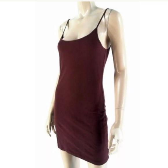 446905242113aa Black Swan Dresses   Saks Nwt Red Wine Seamless Slip Dressbodycon ...
