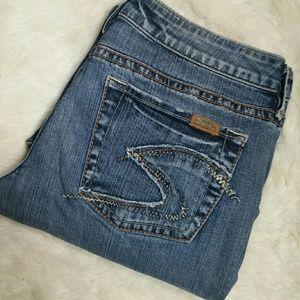 Silver Jeans Denim - Silver Jeans Lola Flare Stretch  Size 31