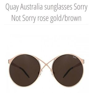 """quay Accessories - Quay """"Sorry I'm Not Sorry"""""""