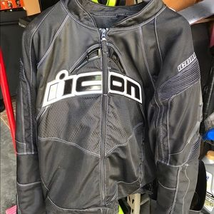 ICON Other - Men's Icon Padded Motorcycle Jacket