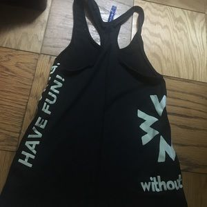 Without Walls Tops - Without walls tank!