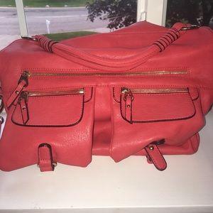 Urban Expressions Handbags - Large red cross body bag!