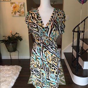 Velvet Torch Dresses & Skirts - Velvet Torch animal print dress size large.