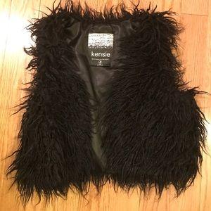 Kenzie Faux Fur Shaggy Vest