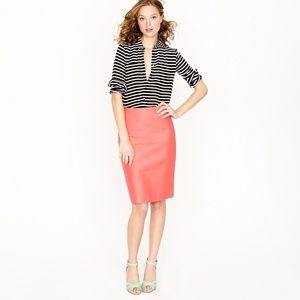 J. Crew Dresses & Skirts - J Crew No. 2 Pencil Skirt in Double serge Cotton