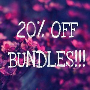 20% off Bundles