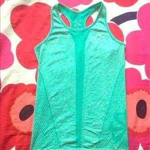 Tiffany blue Nike dri fit tank