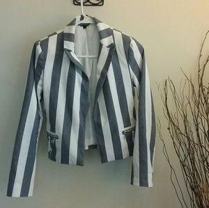Express Jackets & Blazers - EXPRESS Striped Blazer 0 XS