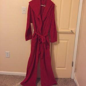 Adonna Other - Adonna Red Plush Robe