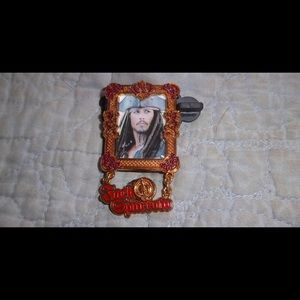 WDW - Pirates of the Caribbean - Jack Sparrow Pin for sale