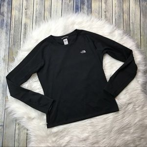 The North Face Black Long Sleeve VaporWick Tee