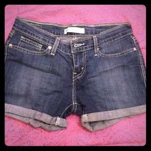 Levi's Denim Shorts Size 7