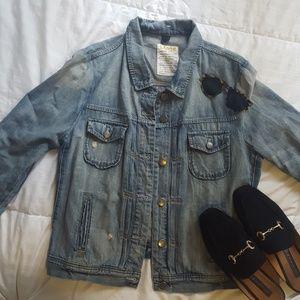 J.crew denim jacket