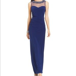 Patra Dresses & Skirts - Patra Illusion embellished sweetheart gown.