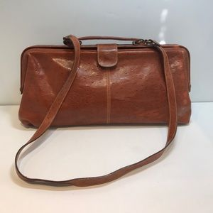 Furla Handbags - Furla  Doctor's Handbag Embossed Leather