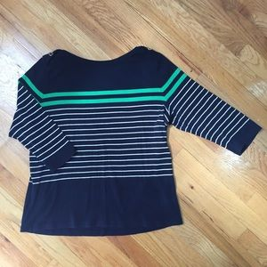 Chaps Tops - Chaps striped top