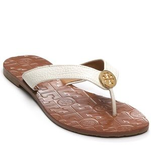 Tory Burch Shoes - Tory Burch Flora FlipFlops
