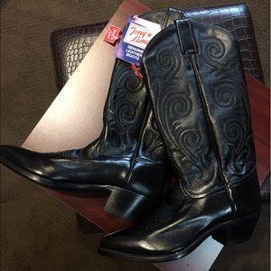 Tony Lama Shoes - Tony Lama genuine leather boots size 5-1/2