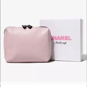 CHANEL Other - Last one Chanel pink comestic bag