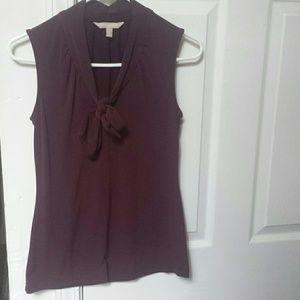 Sleeveless blouse - Banana Republic XS
